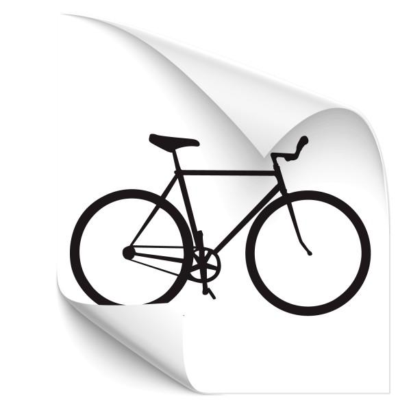 Motivaufkleber - Fahrrad - Sticker