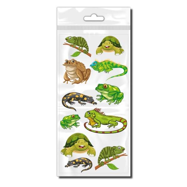 Reptilien Set Bicycle Sticker - Kategorie Shop
