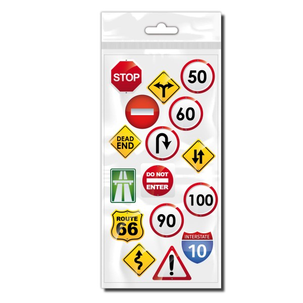 Road Sign Fahrradaufkleber - Kategorie Shop