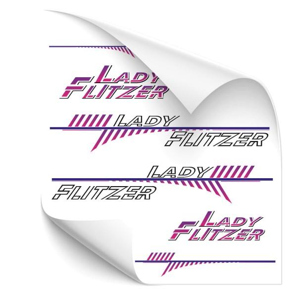 Lady Flitzer - Beschriftungsset Beschriftungsset Lady Flitzer - Kategorie Shop