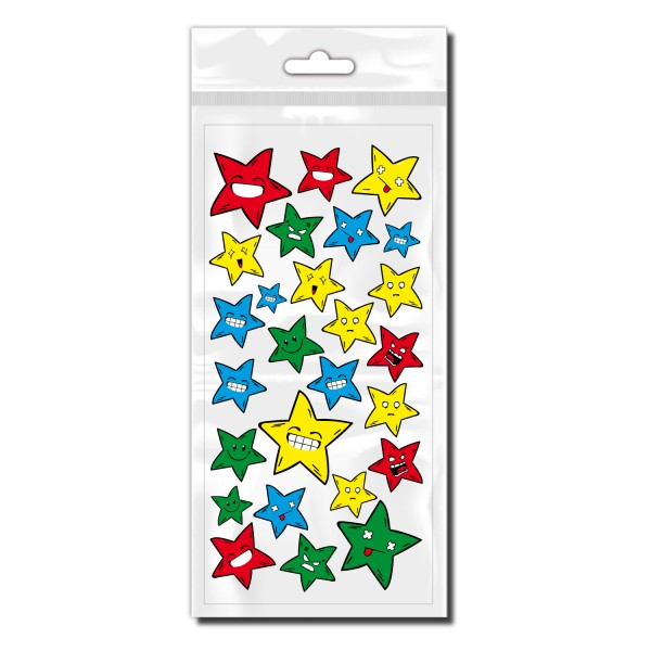 Sterne Fahrrad Aufkleber