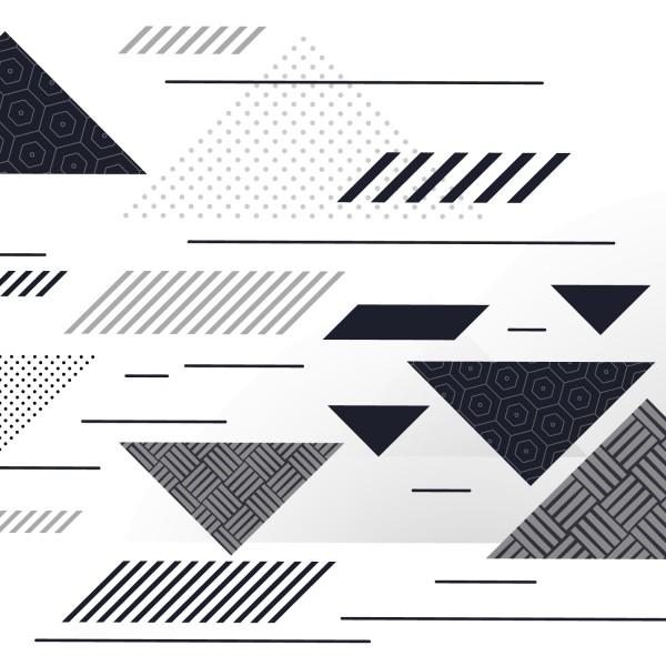Fahrradfolie Dreieck Style - Kategorie Shop