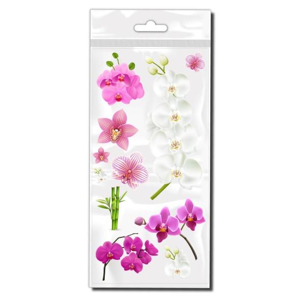 Orchideen Set Fahrradsticker - Kategorie Shop