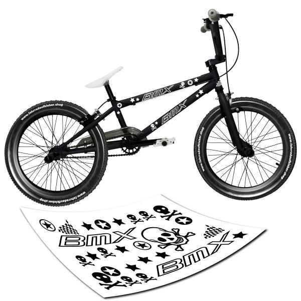 BMX Fahrardaufkleber Set von style4Bike