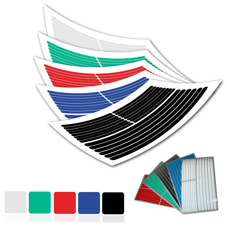 ORALITE® Set reflektierende Sicherheitsaufkleber Reflektor Sticker 120 x 20 mm